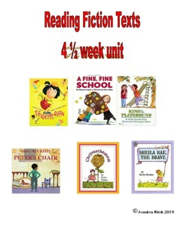 Reading Fiction Texts - First Grade Unit