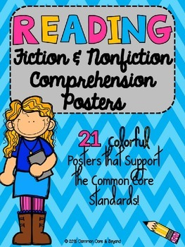 Reading Fiction and Nonfiction Poster Set