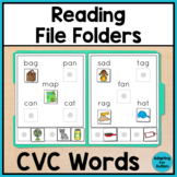 Reading File Folder Activities for Special Education and A