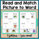 Reading File Folder Activities for Special Education and Autism - Long Vowels