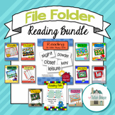Reading File Folder Bundle 2