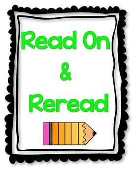 Reading Fix Up Strategy Poster Set