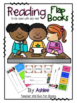 Reading Flap Books {To be used with any text}
