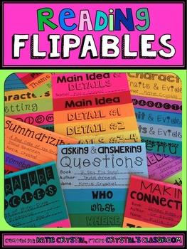 Reading Flipables and Foldables Packs BUNDLE