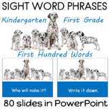Sight Word PowerPoint for Reading Fluency