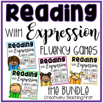 Reading Fluency {A Reading with Expression Game} THE BUNDLE