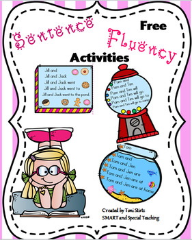 Free Sentence Trees for Sight words and short vowels (Flue
