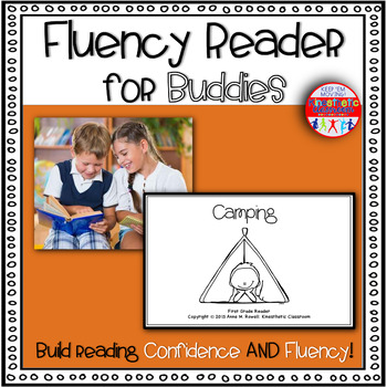 Reading Fluency Activity Book for Buddies Camping