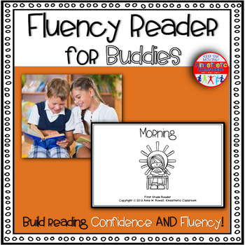 Reading Fluency Activity Book for Buddies Morning