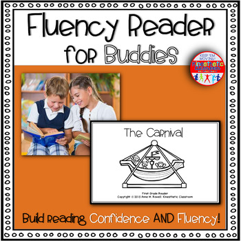 Reading Fluency Activity Book for Buddies The Carnival