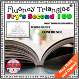 Reading Fluency Activity - Fluency Triangles® Fry Second 100 Sight Words {RTI}
