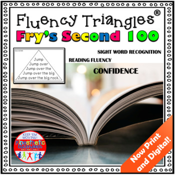 Reading Fluency Activity - Fluency Triangles® Fry's Second