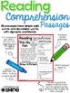 Reading Comprehension Passages ~ COMPLETE BUNDLE