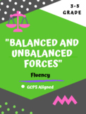 Reading Fluency (Balanced and Unbalanced Forces)