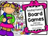 Reading Fluency Board Games {CVC, Blends, Digraphs, Sight