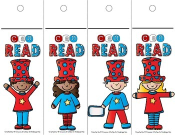 Reading Fluency Bookmarks {FREE}