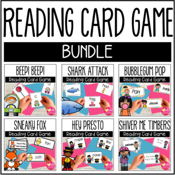 Reading Fluency Card Game BUNDLE!
