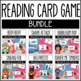 Reading Fluency Card Game BUNDLE!