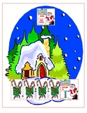 Christmas - Reading North Pole Fluency Race {Common Core}