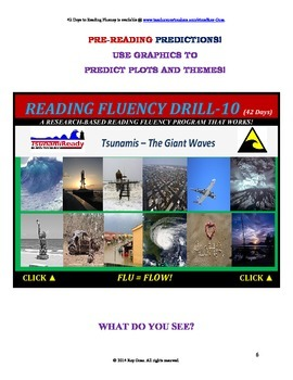 Use Graphics to Predict Plots and Themes! FLUENCY CAN BE INCREASED! Drill-10!