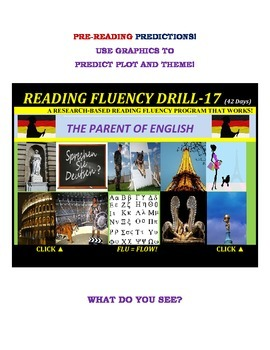 Use Graphics to Predict Plots and Themes! FLUENCY CAN BE INCREASED! Drill-17!