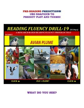 Use Graphics to Predict Plots and Themes! FLUENCY CAN BE INCREASED! Drill-19!