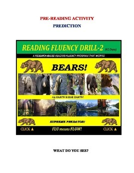 Use Graphics to Predict Plots & Themes! Fluency CAN BE INCREASED! Drill - 2!