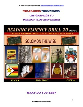 Use Graphics to Predict Plots and Themes! CAN BE INCREASED! Drill-20!