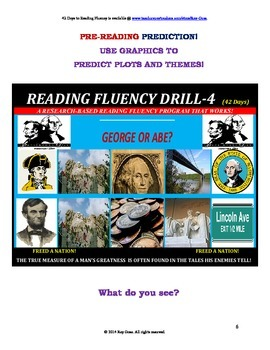 Use Graphics to Predict Plots & Themes! Fluency CAN BE INCREASED! Drill - 4!