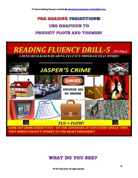 Use Graphics to Predict Plots & Themes! Fluency CAN BE INCREASED! Drill - 5!