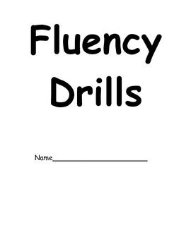 Reading Fluency Drills RTI Intervention