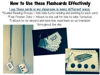 Reading Fluency Flashcards