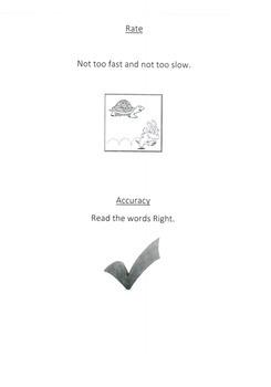 Reading Fluency Flip Book