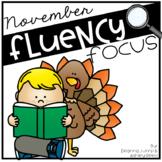 Reading Fluency Focus November