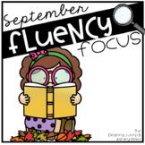 Reading Fluency Focus September