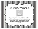 Reading Fluency Folders for Assessment - Common Core