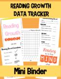 Reading Fluency & Growth Data Tracker *MINI BINDER!*