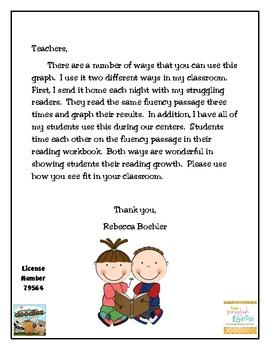Reading Fluency Homework Chart