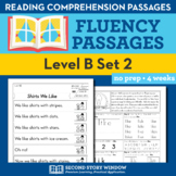 Reading Fluency Homework Level B Set 2