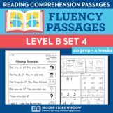 Reading Fluency Homework Level B Set 4