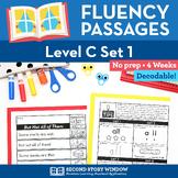 Reading Fluency Homework Level C Set 1 - Early Reading and Sight Word Fluency
