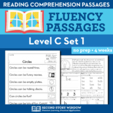 Reading Fluency Homework Level C Set 1 - Distance Learning Packet