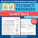 Reading Fluency Homework Level F Set 2 - Reading Comprehen