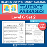 Reading Fluency Homework Level G Set 2 - Reading Comprehen