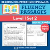 Reading Fluency Homework Level I Set 2