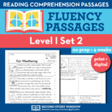 Reading Fluency Homework Level I Set 2 - Distance Learning
