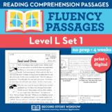 Reading Fluency Homework Level L Set 1