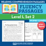 Reading Fluency Homework Level L Set 2 - Reading Comprehen