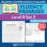 Reading Fluency Homework Level R Set 2 - Reading Comprehension Passages +Digital