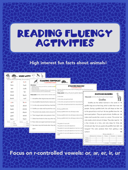 Reading Fluency Intervention with R-controlled vowels